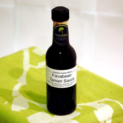 Fava Bean Tamari Sauce by Sunshine Organic Miso