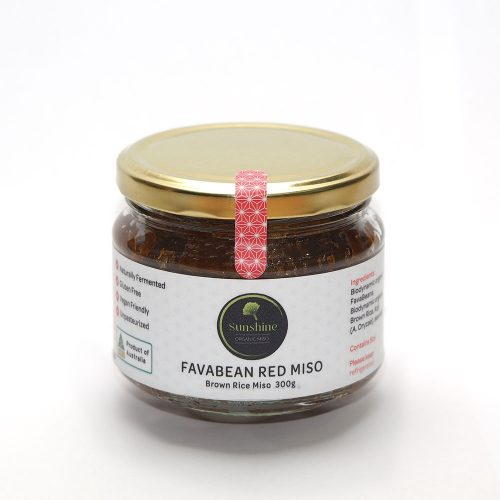 Fava Bean Red Miso by Sunshine Organic Miso